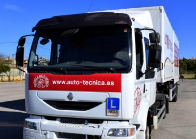 Camión con remolque permiso C+E