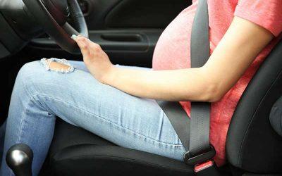 Embarazo y conducción.