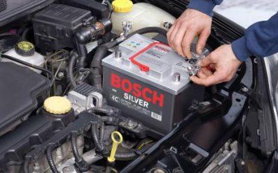 La batería del coche.