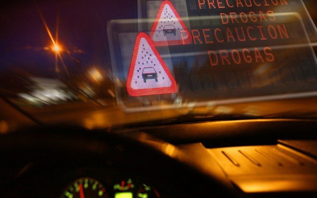 Las drogas y la conducción.