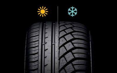 Cómo saber si un neumático es de invierno o de verano.